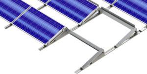 ALFA aurinkopaneelien asennus tasakatoille